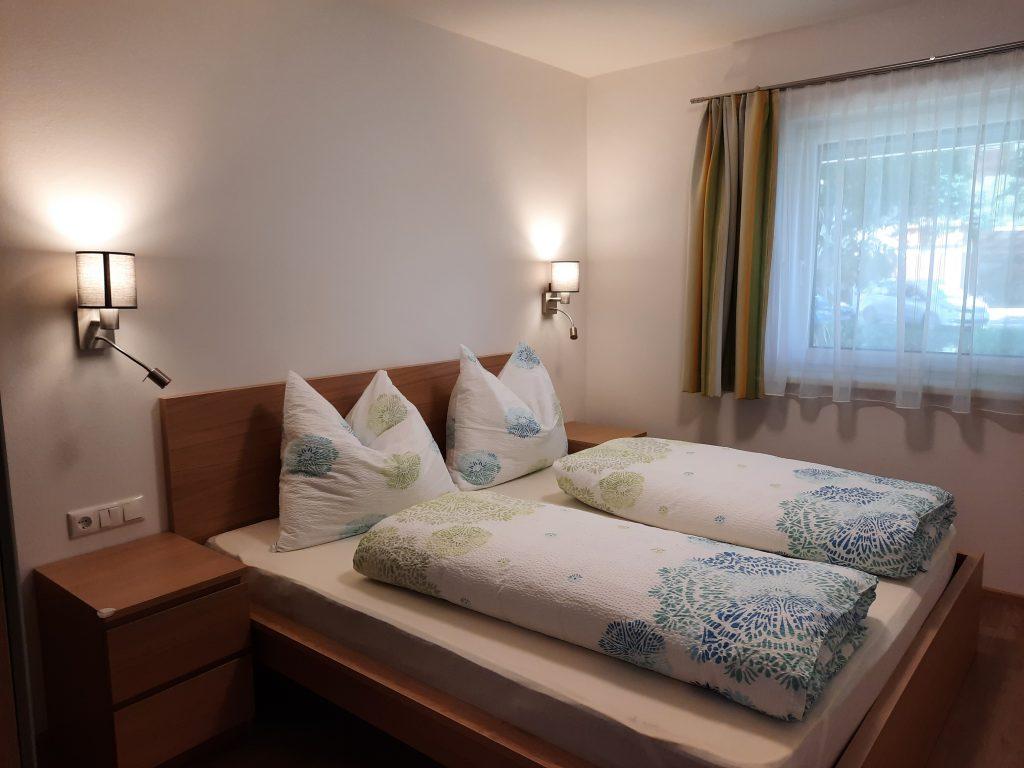 Pension Hecher Ferienwohnung Wiesenglück Schlafzimmer 2