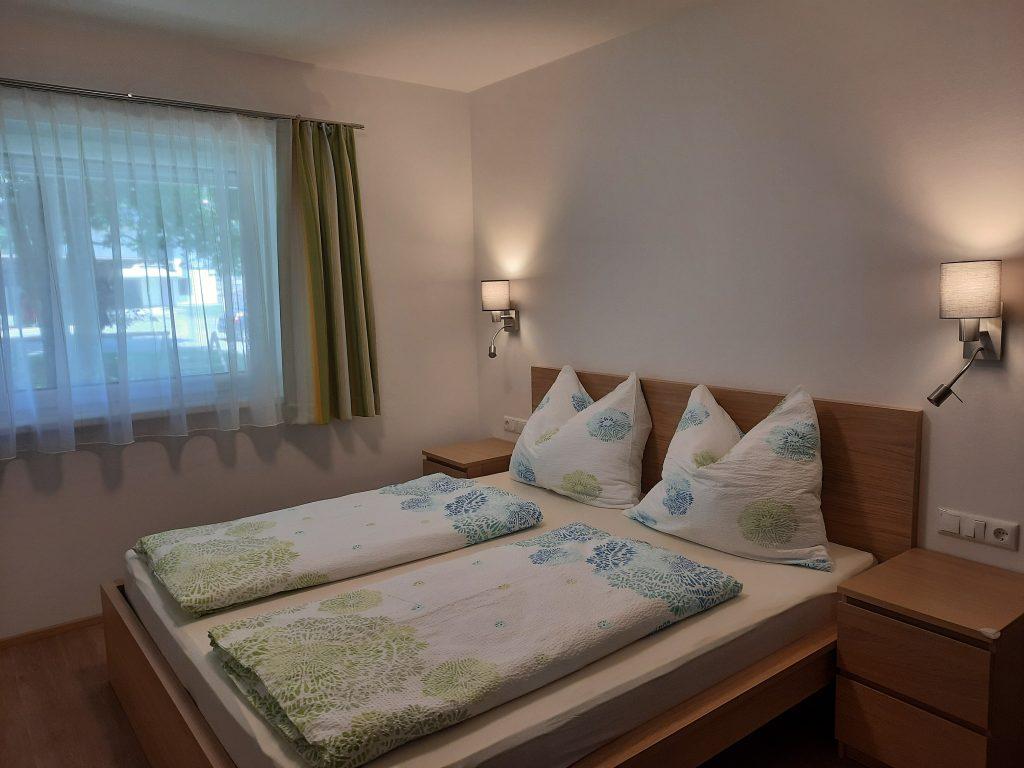 Pension Hecher Ferienwohnung Wiesenglück Schlafzimmer 1